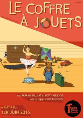 """Le coffre à jouets"", de David Koenig, Betty Pelissou et Perrine Bollart, 2016"