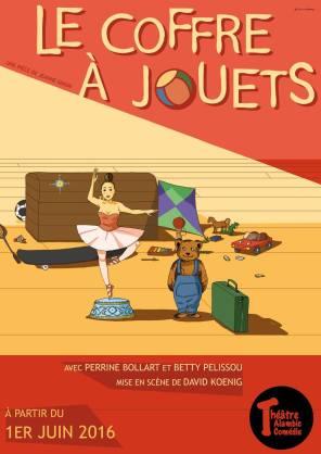 """Le coffre à jouets"", de David Koenig, Betty Pelissou et Perrine Bollart, 2016"