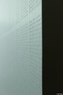 """Musée Mac/Val de Vitry-sur-Seine, """"Écriture nocturne"""" de Renaud Auguste-Dormeuil"""