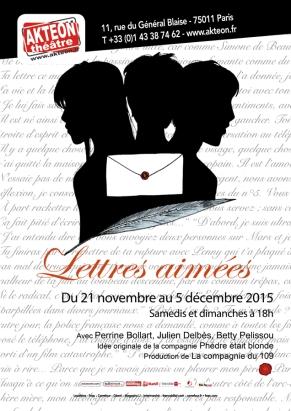 """""""Lettres aimées"""", compagnie Phèdre était blonde, 2015"""