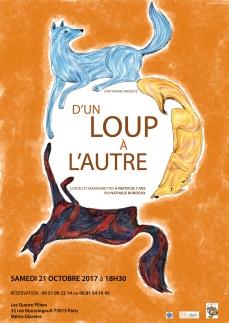 """""""D'un loup à l'autre"""", contes de Nathalie Bondoux, 2017"""