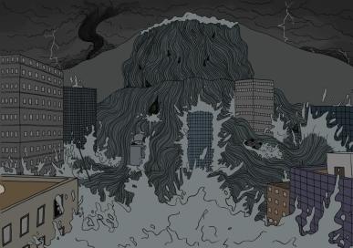 """""""Le pays de la pluie"""", 2017"""