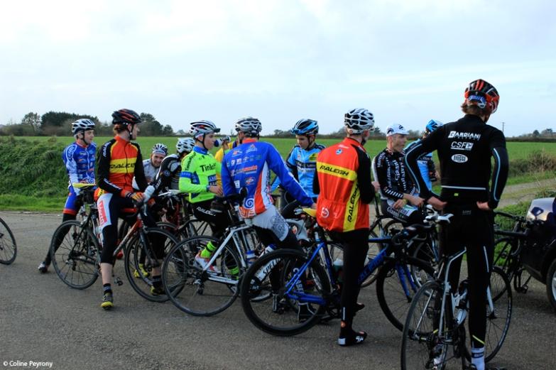 Course cycliste de Lannilis (décembre 2015)