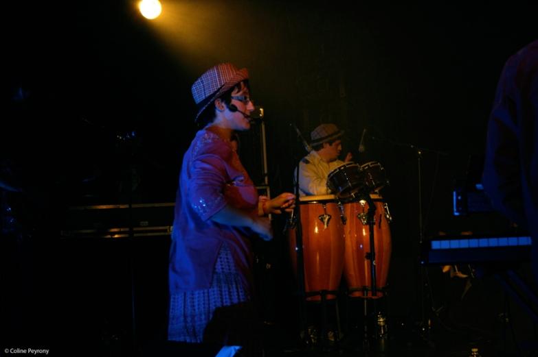 Concert Cactus, organisé par l'association Tous en Scène, à La Clef (Saint-Germain-en-Laye, janvier 2016)