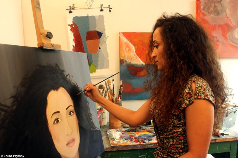 "Tournage de ""12 rue Matisse"", de Houdia Ponty (juin 2015)"